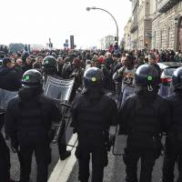 Migrants protest angrily in Florence after Italian kills African street vendor