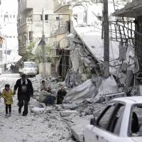 Rebels in Syria's besieged eastern Ghouta discussing cease-fire with U.N.