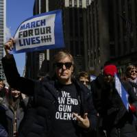 'Never Again': Student-led U.S. gun protests draw huge crowds