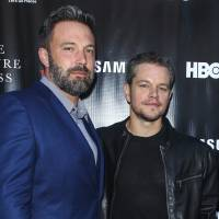 Ben Affleck (left) and Matt Damon attend the 'Project Greenlight' premiere of 'The Leisure Class' in Los Angeles in 2015. Damon, Ben Affleck and Paul Feig are jumping on the inclusion rider bandwagon following Frances McDormand's Oscar acceptance speech. Franshen Cox DiGiovanni said late Monday on Twitter that Damon and Affleck's production company, Pearl Street Films, would be adopting the inclusion rider in conjunction with USC's Annenberg Inclusion Initiative. | PAUL A. HEBERT / INVISION / VIA AP