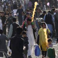 Islamic State takes credit as suicide bomber kills dozens as Kabul marks Persian New Year