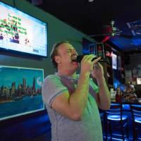 Rising opera star was discovered in karaoke bar