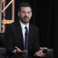 'Live': Jimmy Kimmel brings Katie Couric to his colonoscopy