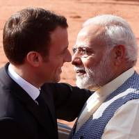 Macron pledges €700 million for new solar projects at New Delhi meet