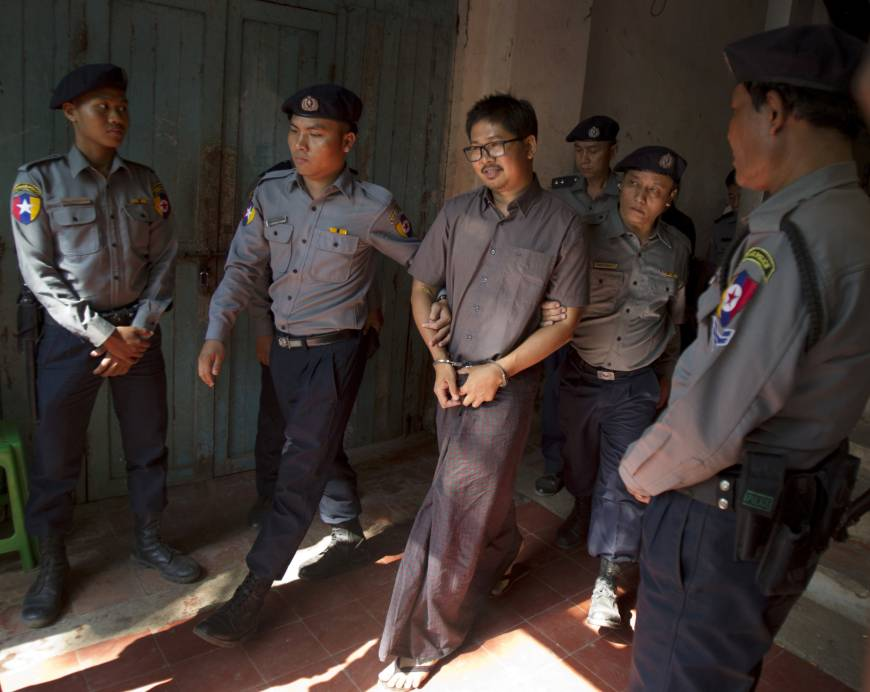 Myanmar police witness testifies arrested Reuters reporter's home was searched 'for news'