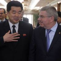 IOC chief Thomas Bach arrives in North Korea to discuss participation in future games