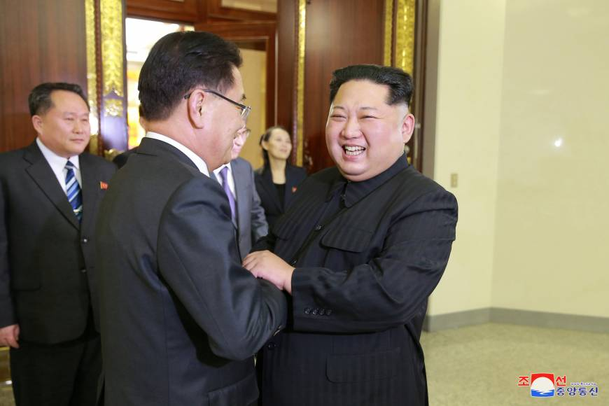 Two Koreas agree to leaders' summit as North voices openness to denuclearization