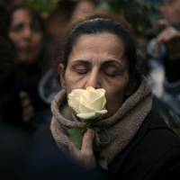 Thousands march in Paris in memory of slain Jewish woman, 85, in apparent act of anti-Semitism