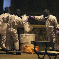 U.K. to invest £48 million in new chemical weapons facility, and vaccinate soldiers against anthrax, after spy poisoning