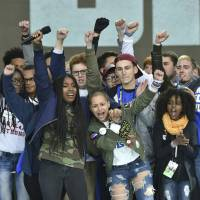 U.S. rally organizers vow no letup in gun control campaign ahead of midterm polls as ranks register to vote