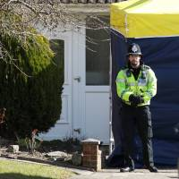 Russian ex-spy and daughter first exposed to nerve agent at home: U.K. police