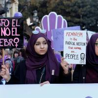 Spanish women hold nationwide strike against inequality and macho culture