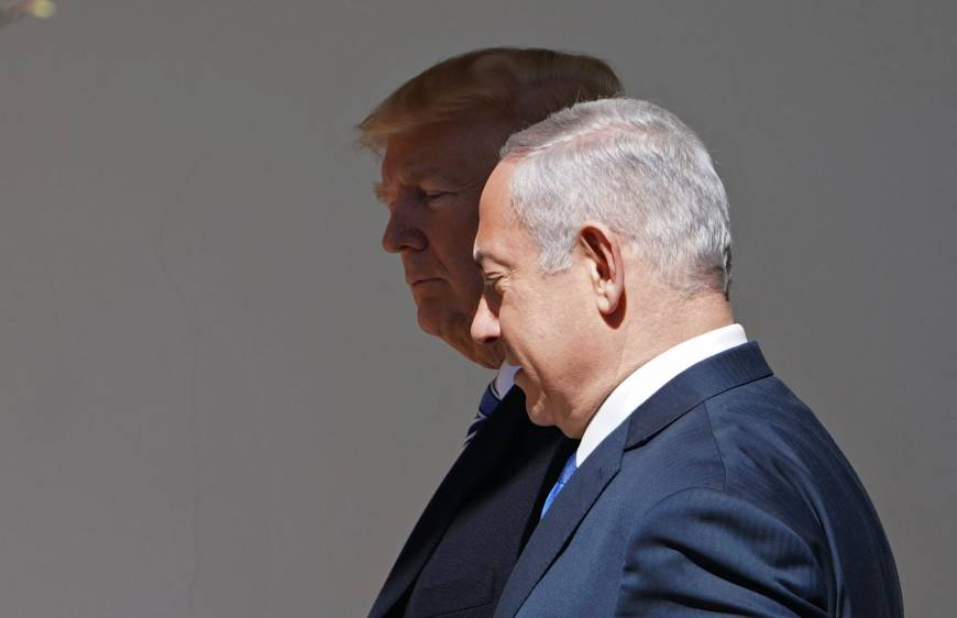 Trump dangles prospect of traveling to Israel when embassy relocates to Jerusalem