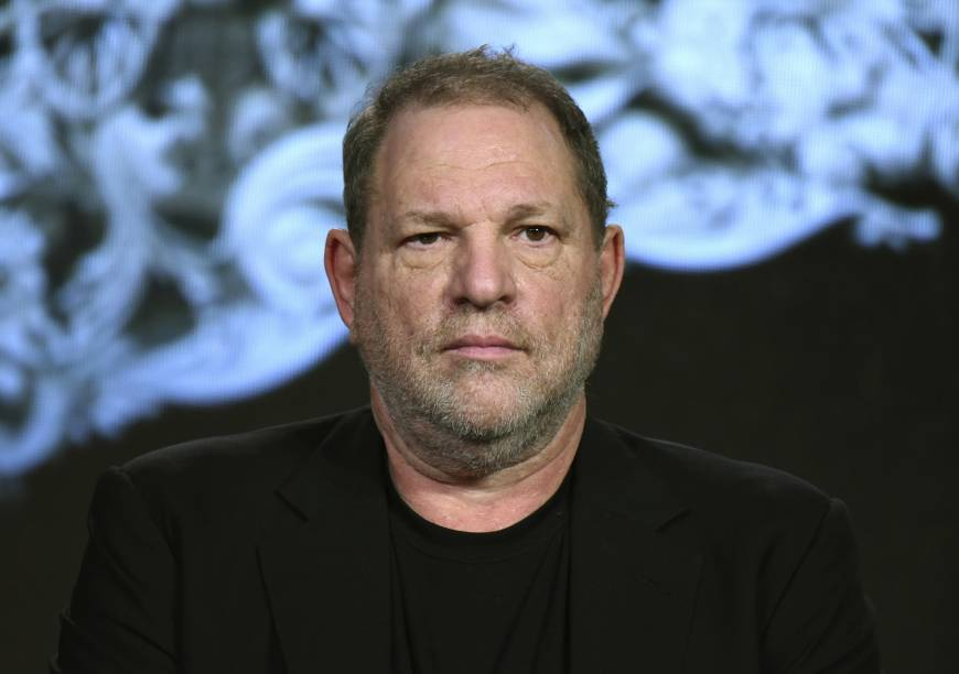 Producer Harvey Weinstein participates in a panel at the A&E 2016 Winter TCA in Pasadena, California, in 2016. On Monday, The Weinstein Co. announced it has filed for bankruptcy protection with a buyout offer in hand from a private equity firm, the latest twist in its efforts to survive the sexual abuse scandal that brought down co-founder Weinstein. | RICHARD SHOTWELL / INVISION / VIA AP