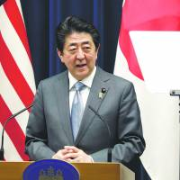 Abe says he's in contact with North about meeting Kim, suggests in Diet he'd be open to trilateral summit with U.S.