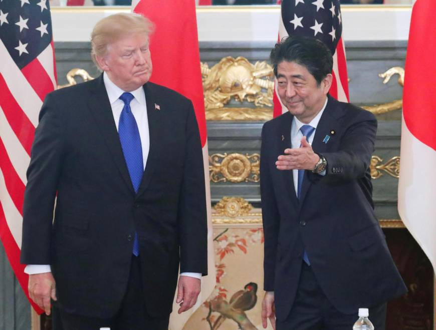 Abe to visit U.S. in April to discuss North Korea with Trump