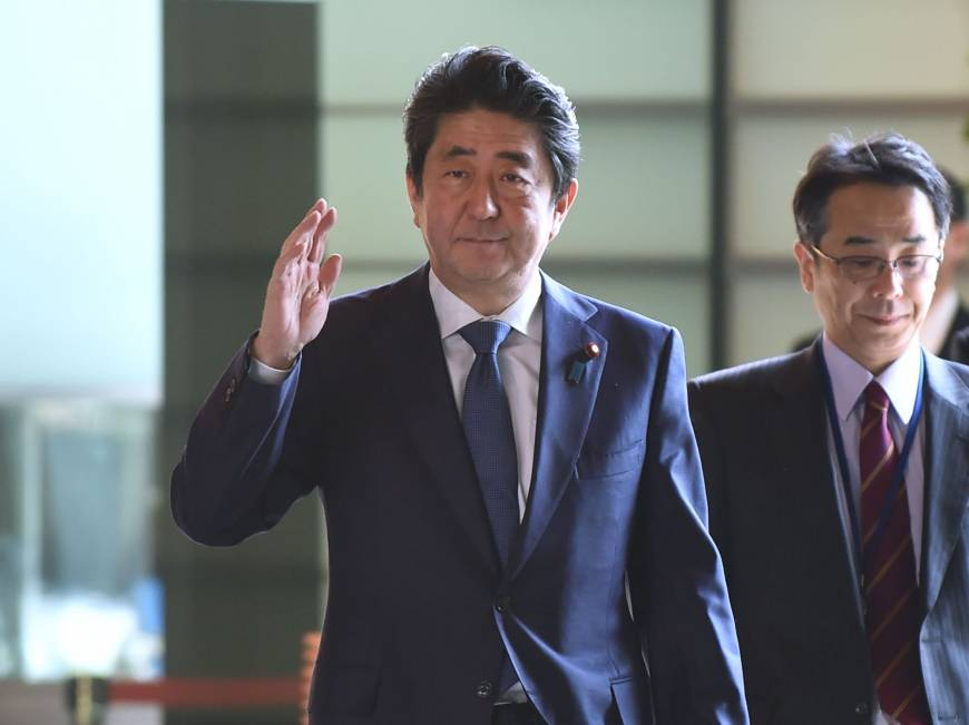 Abe may visit U.S. from April 17 to 19 to meet Trump, discuss North Korea