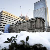 In what some pundits call the largest monetary experiment in modern history, the Bank of Japan has stunned the finance world with its unprecedented scale of monetary easing under the policy of Gov. Haruhiko Kuroda. | BLOOMBERG
