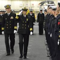 Japan's Maritime Self-Defense Force appoints first woman to command warship squadron