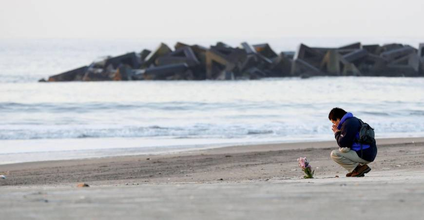 Japan marks seventh anniversary of 3/11 with moment of silence