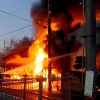 Body found in Hyogo house where blaze that gutted train station started
