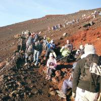Shizuoka and Yamanashi aim to ease Mount Fuji crowds with targets for number of daily climbers