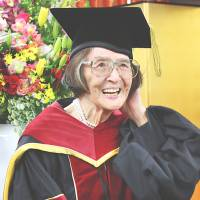 Ritsumeikan student said to be oldest to secure doctorate, at 88, was preceded by 95-year-old Kyoto scholar