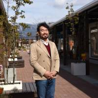Toru Hiji, who designed the award-winning Kyassen Ofunato mall, says his task for the second year is to keep local clientele coming while devising new ways to lure visitors. | SATOKO KAWASAKI
