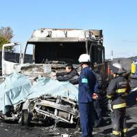 Smartphone-using truck driver who caused fatal Shiga pileup gets heavier term than demanded by prosecutors