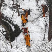13 hikers rescued from snowy mountain trail near Tokyo