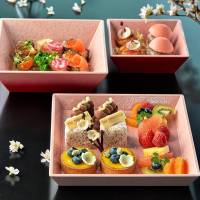 Tuck into spring feast with vibrant bento, cocktails