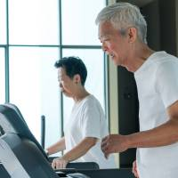 A steep rise in gym memberships by senior citizens has coincided with growing enthusiasm among the elderly to prevent metabolic syndrome and lifestyle-related illnesses. | GETTY IMAGES