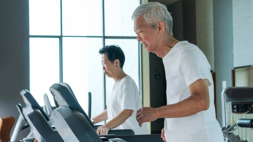 The elderly are dominating Japan's fitness clubs