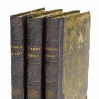 Out on the wily, windy moors: Emily Bronte's 'Wuthering Heights' was first published in three volumes under the pseudonym 'Ellis Bell.' | BONHAMS / VIA KYODO