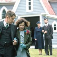 An old-fashioned marriage: Sally Hawkins (center) and Ethan Hawke play Maud and Everett Lewis in Aisling Walsh's 'Maudie.' The couple's marriage was far from perfect, but Walsh chose to portray it realistically.  © 2016 Small Shack Productions Inc. / Painted House Films Inc. / Parallel Films (Maudie) Ltd.