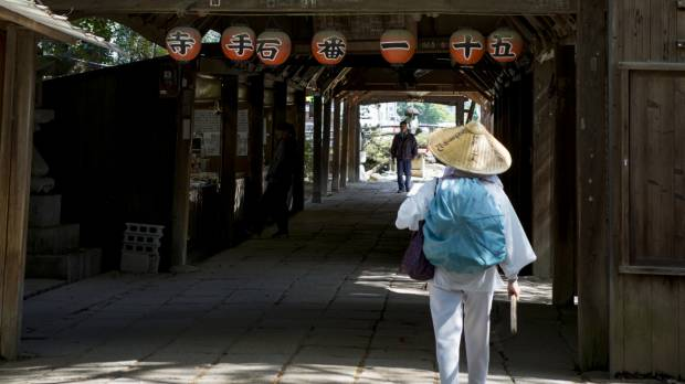 No right way to complete Shikoku's 88-temple pilgrimage