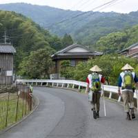Two's company: Pilgrims walking the more humble parts of the Shikoku Pilgrimage | CHRISTINA SJOGREN