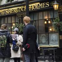 Pub life: Miki Bartley explains the history behind a pub in London called The Sherlock Holmes. | COURTESY OF MIKI BARTLEY