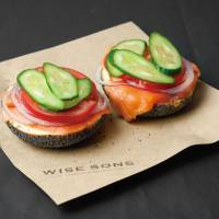 Open secret: Wise Sons is the most recent addition to the Tokyo bagel scene, which includes popular haunts such as the New New York Club and Loop Bagel Works. | GIRAUD RESTAURANT SYSTEMS