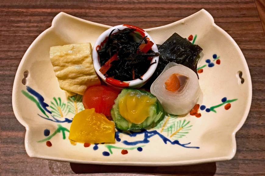 Chef's selection: At Tai no Tai, Noriyuki Hashinaga doesn't steer clear of the simple, using ingredients such as hijiki as the kaiseki course's centerpiece. | J.J. O'DONOGHUE