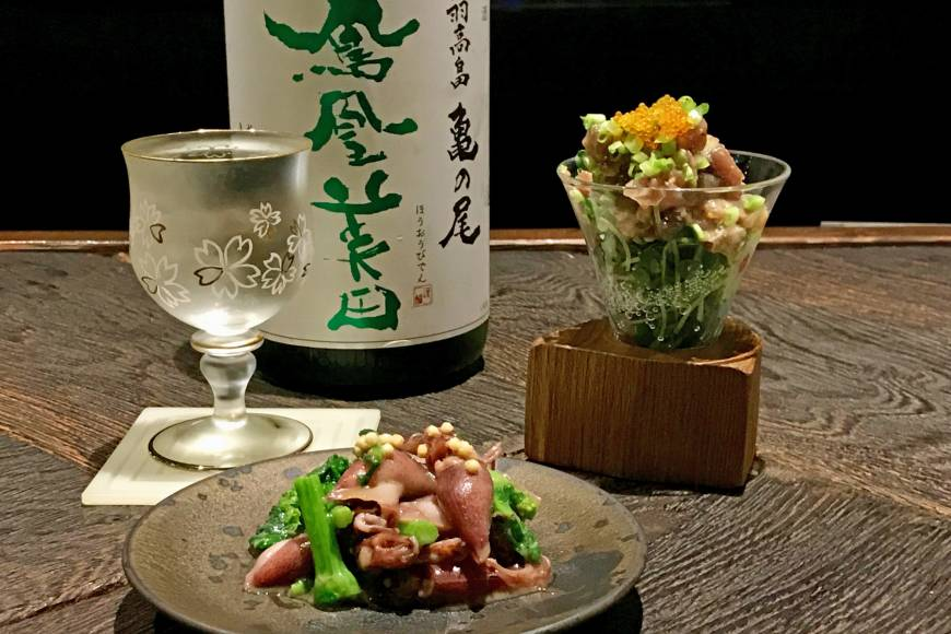 Fare with flair: Know by Moto pairs premium nihonshu with inventive side dishes, in a space that feels more like a cool cafe than a traditional tavern. | ROBBIE SWINNERTON