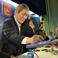 Takeshi Kitano to abandon his 'army' of talent