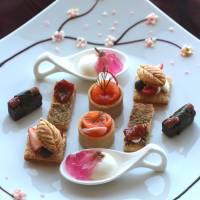 Sweet and savory White Day treats