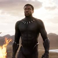 The cat who's all that: Chadwick Boseman plays the eponymous superhero in 'Black Panther.' | AP