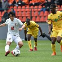 Japan salvages draw with Mali