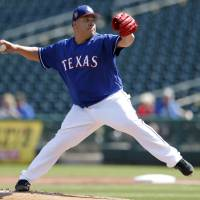 Veteran pitcher Bartolo Colon throwing strikes for Rangers at age 44