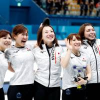Curling charms flying off shelves at shrine in Olympic bronze medalists' hometown