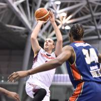 Brave Thunders center and scoring maestro Nick Fazekas is one of the most skillful offensive players in Japan. | B. LEAGUE