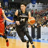 SeaHorses Mikawa star Kosuke Kanamaru is a key part of the team's veteran nucleus. An annual draft would help the league eventually create a more competitive balance among teams. | B. LEAGUE
