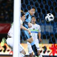Temma Matsuda nets first goal in top flight as  Bellmare earn draw against Frontale